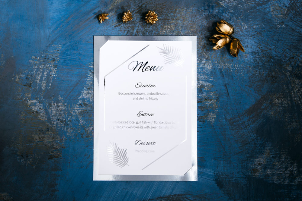 silver-foiled-wedding-menu-3-paper-matte-white-color-