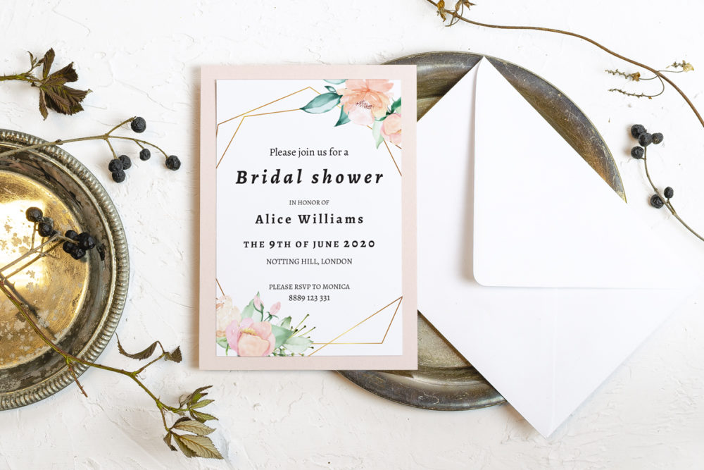 powder-flower-crown-elegant-bridal-shower-paper-matte-white-pad-pink-pad-envelope-without-envelope