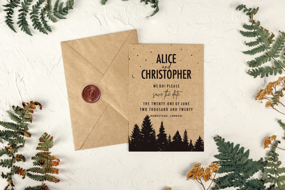 forest-eco-save-date-paper-eco-envelope-eco-sealing-wax-brown-envelope