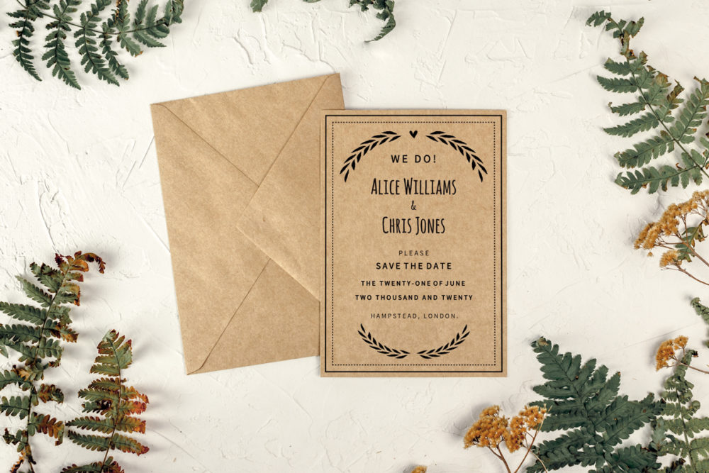 minimalistic-wreath-eco-save-date-paper-eco-envelope-eco-sealing-wax-without-sealing-wax