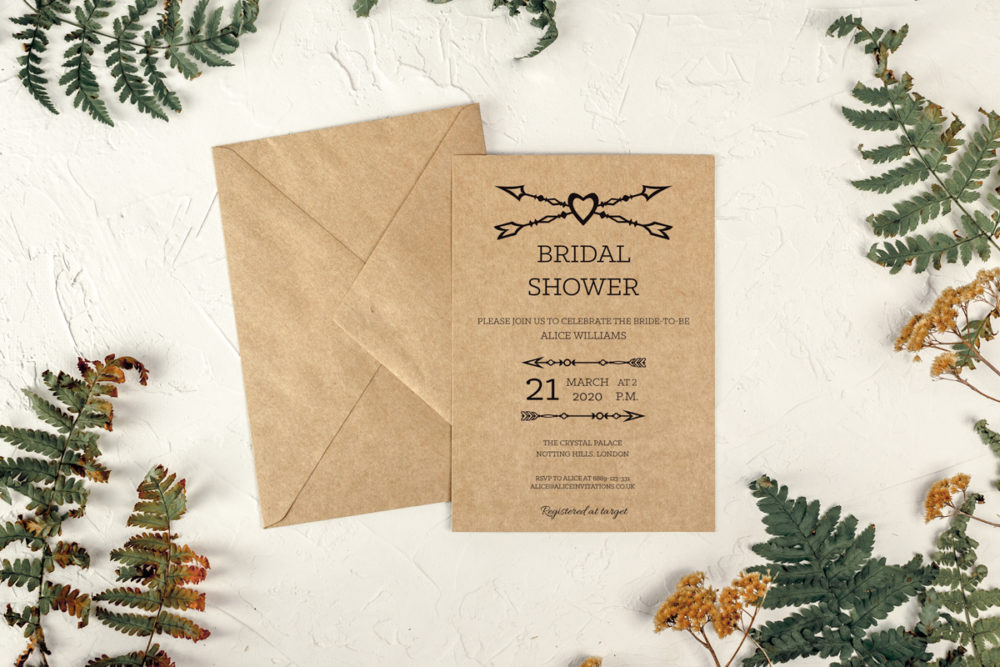rustic-arrows-eco-bridal-shower-paper-eco-envelope-eco-sealing-wax-without-sealing-wax
