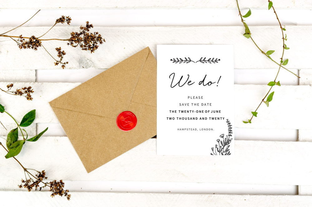floral-doodle-photo-save-date-paper-matte-white-envelope-eco-sealing-wax-red-nvelope