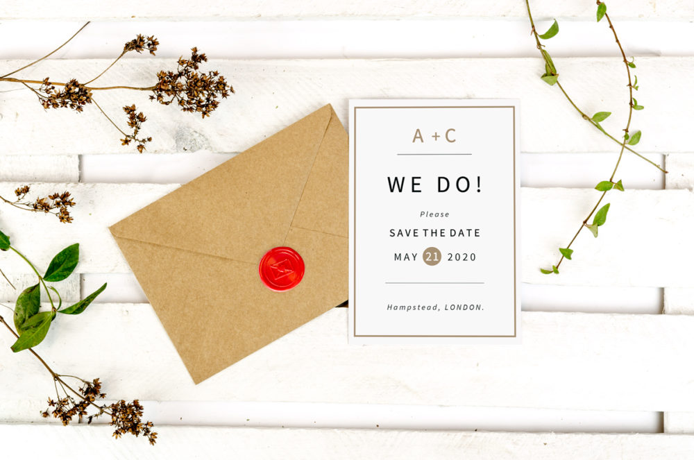 picture-frame-photo-save-date-paper-matte-white-envelope-eco-sealing-wax-red-nvelope