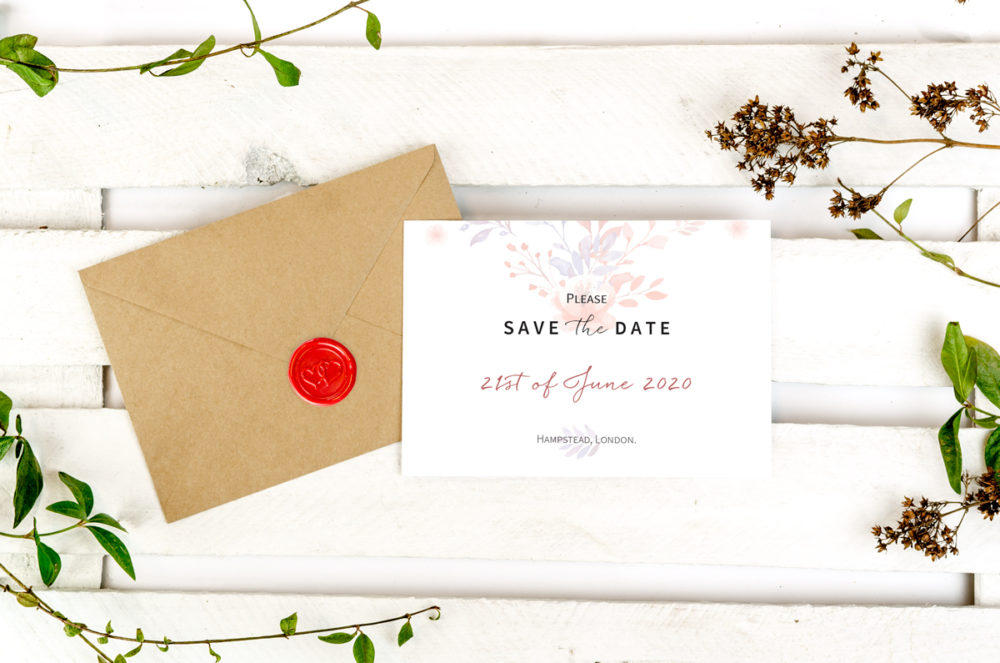 beige-flowers-photo-save-date-paper-matte-white-envelope-eco-sealing-wax-red-heart