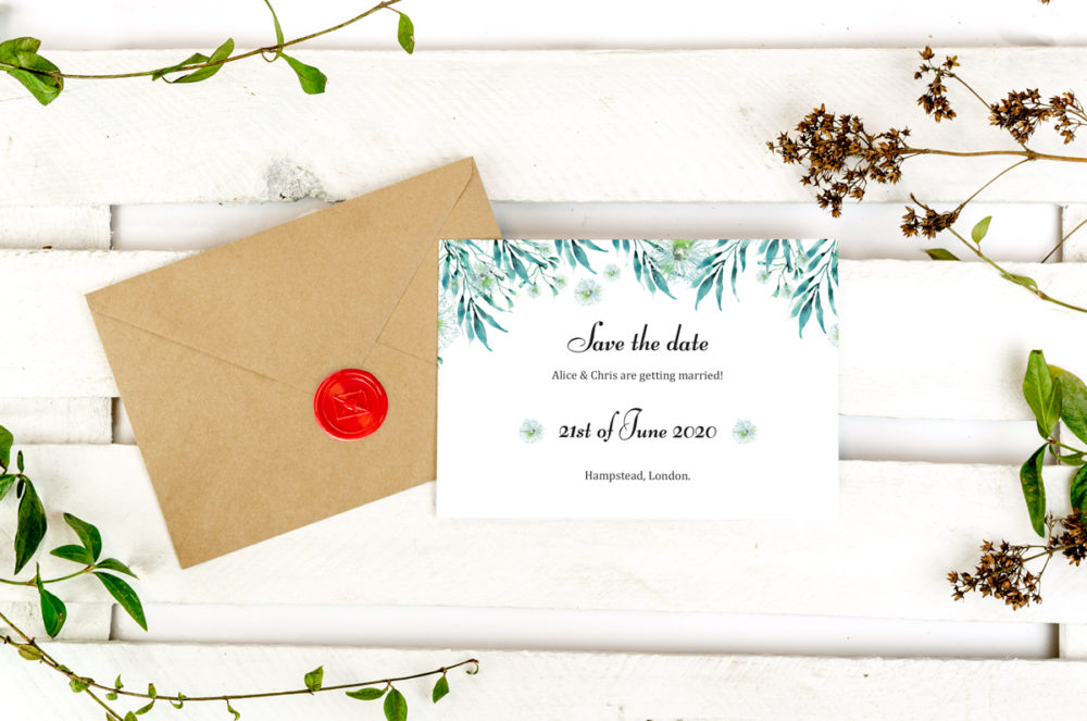 blue-eucalyptus-photo-save-date-paper-matte-white-envelope-eco-sealing-wax-red-nvelope