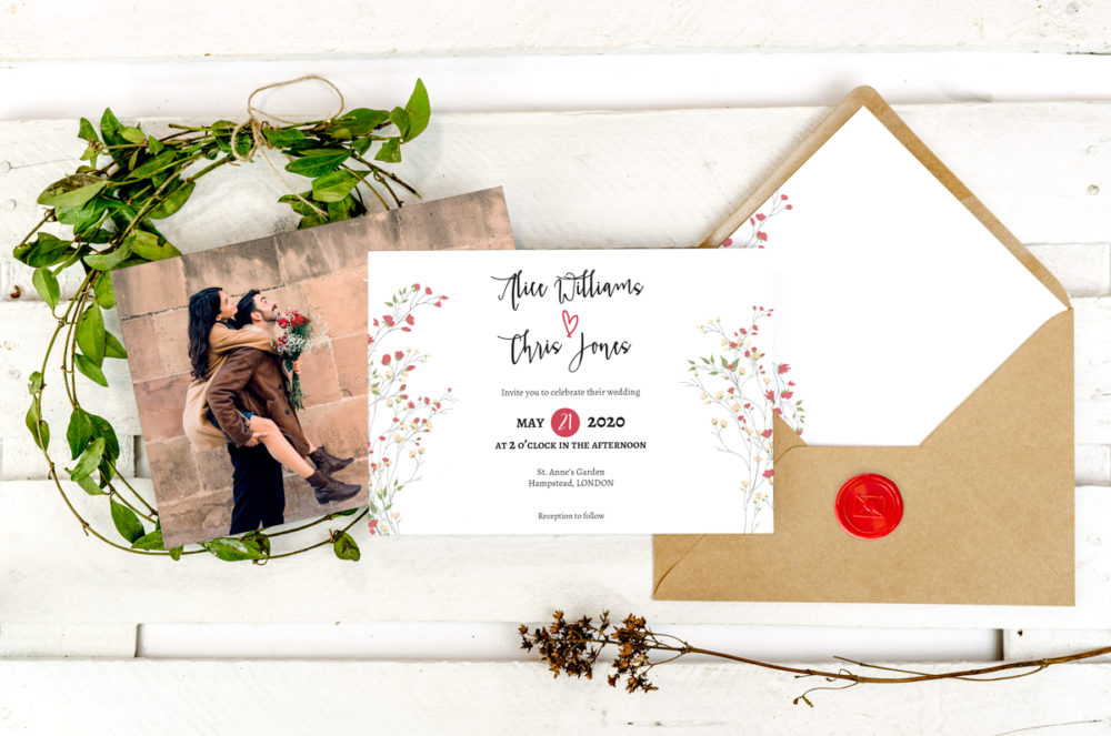 red-heart-photoinviation-envelope-paper-matte-white-envelope-eco-b6-with-envelope-liner-red-heart-sealing-wax-red-nvelope