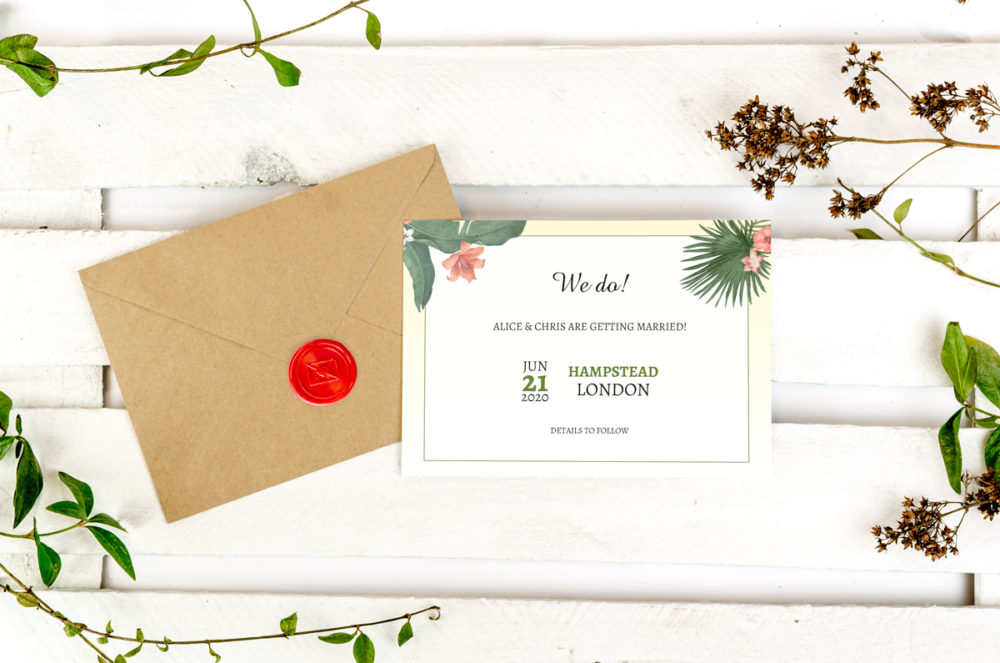 tropical-photo-save-date-paper-matte-white-envelope-eco-sealing-wax-red-nvelope