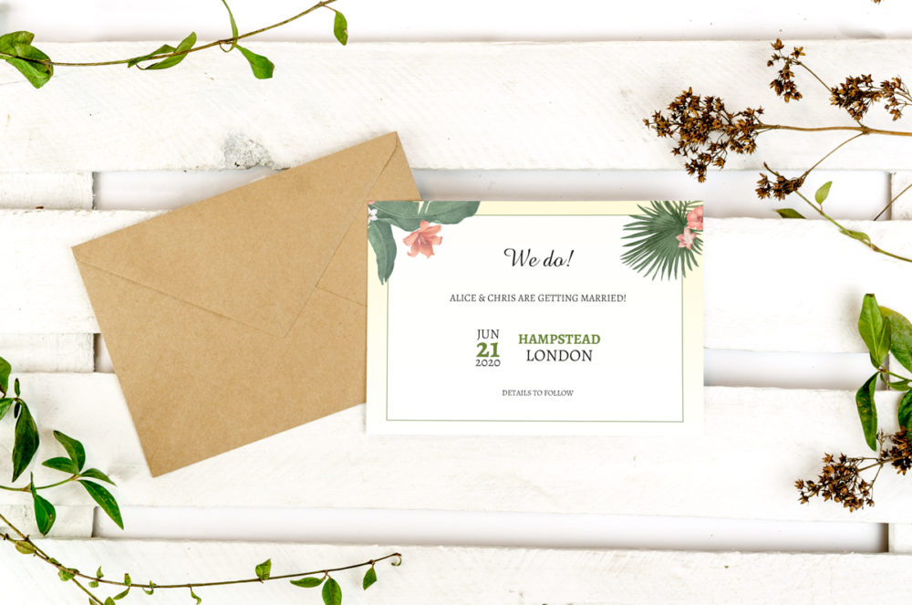 tropical-photo-save-date-paper-matte-white-envelope-eco-sealing-wax-without-sealing-wax