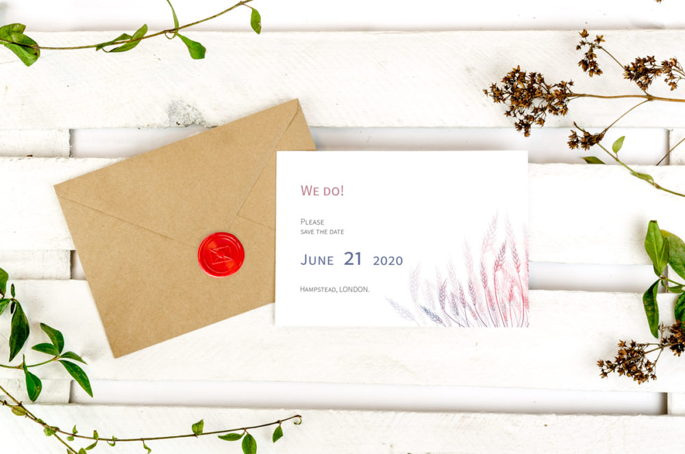 wheats-photo-save-date-paper-matte-white-envelope-eco-sealing-wax-red-nvelope