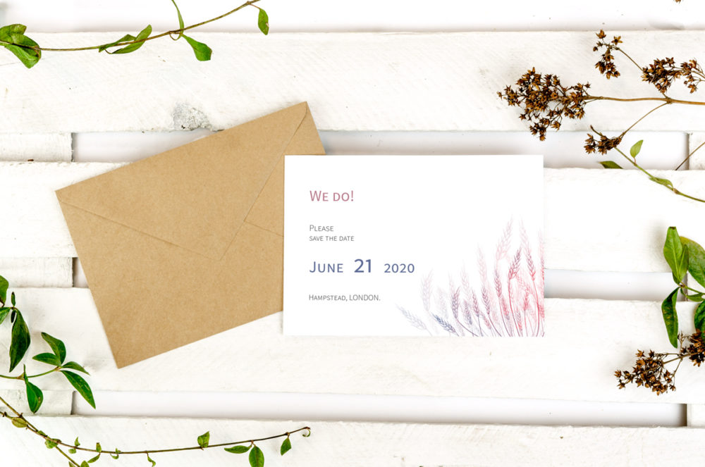 wheats-photo-save-date-paper-matte-white-envelope-eco-sealing-wax-without-sealing-wax