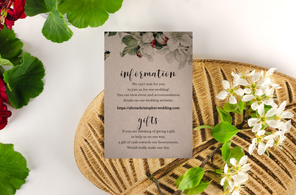 apple-tree-parchment-information-card-paper-gray